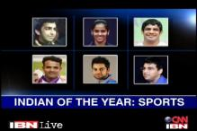 Nominees for Indian of the Year 2012 in sports category