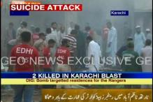 Pak: Bomb blast in Karachi; 2 killed, 14 injured