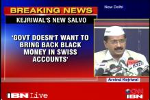 Kejriwal alleges Ambanis, Dabur owners have black money