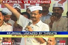 Kejriwal takes on Khurshid, asks Farrukhabad to defeat him
