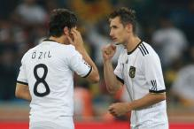 Injuries rule out Klose, Ozil for Netherlands friendly