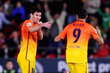 Messi scores twice as Barca beat Mallorca 4-2