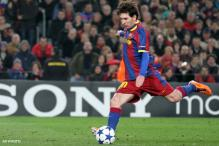 Lionel Messi's pursuit of Muller record on hold