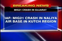Gujarat: MiG 21 aircraft crashes in Kutch, pilot safe