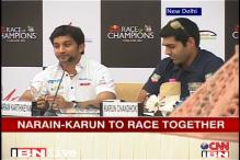 Karthikeyan-Chandhok to team up for Race of Champions