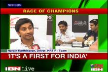 Karthikeyan, Chandhok excited ahead of Race of Champions