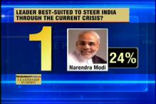 CNN-IBN-HT Poll: Modi is India's preferred leader