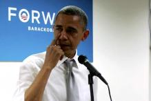 US: Obama wipes away tears while speaking to staff
