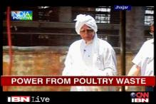 Ex-Army man produces power from poultry waste