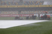 SA-Aus Brisbane Test: Rain washes out day two