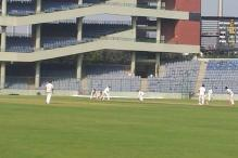 Ranji Trophy Group B, Round 3, Day 2: Baroda pile on runs against Delhi