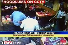 Watch: Goons vandalise a restaurant after owner denies free meals