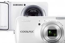 Samsung Galaxy camera vs Nikon Coolpix S800c