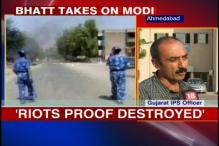 Guj govt targeting me for taking on Modi: Bhatt