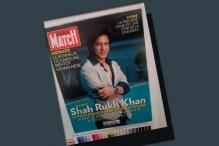 Shah Rukh Khan on French magazine cover