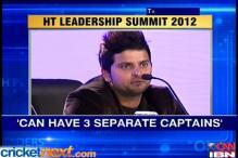 Suresh Raina backs the concept of split captaincy