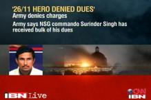 Army says ex-NSG commando got his dues