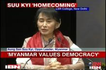 Indians take democratic rights for granted: Suu Kyi