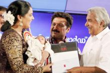 Swetha's daughter hogs limelight at State Film awards