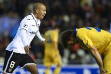 Valencia beat BATE 4-2 in Champions League