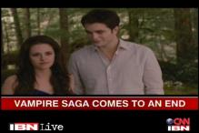 Twilight saga concludes with 'Breaking Dawn Part Two'