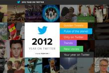 Twitter releases the top trends of 2012