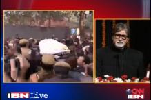 Amitabh Bachchan announces Rs 2.5 lakh for constable family