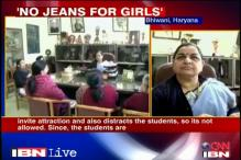 Women's college in Bhiwani bans girls from wearing jeans