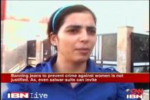 Clothes don't affect a criminal's mind: Bhiwani student on diktat