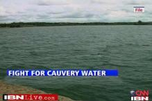 Protests in Karnataka over Cauvery water to Tamil Nadu