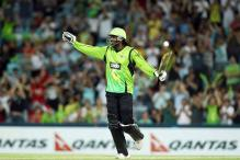 Gayle responds to Haddin's criticism in Big Bash