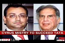Cyrus Mistry to succeed Ratan Tata on December 28