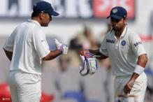 Late in the series, Kohli and Dhoni show some character