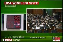 FDI in retail: Who voted for whom