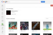Google adds Communities to Google Plus