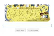 Google doodles Srinivasa Ramanujan's 125th birthday