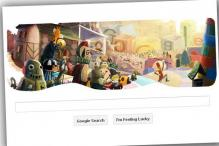 Google wishes Happy Holidays with a doodle
