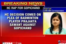 High Court reprimands Gopichand for running private academy