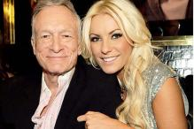 Hugh Hefner wants to be with Crystal Harris forever