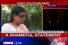 TMC leader's statement on Park Street rape shameful: Victim