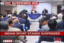 Suspension a huge setback for IOA