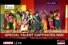 Delhi: Differently-abled kids perform at NSD fest