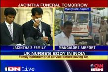 Body of Jacintha Saldanha arrives in Mangalore