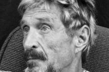 Software guru McAfee wants to return to US