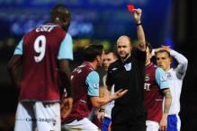 Red cards rescinded for West Ham's Cole and Everton's Gibson