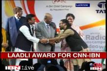 CNN-IBN wins 'Laadli Media Award for Gender Sensitivity'