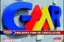 Maldives firm on GMR contract cancellation