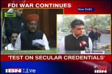 FDI vote will test secular credentials of parties: Tewari