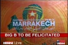 Big B to be felicitated at Marrakesh film festival