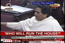 Mayawati attacks Ansari over Rajya Sabha disruptions